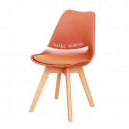 Jedálenská stolička Bali new (koňaková)