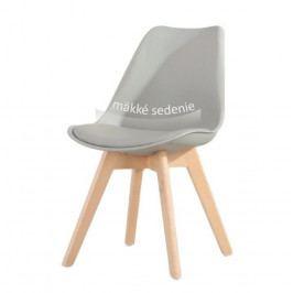 Jedálenská stolička Bali new (sivá)