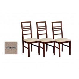 Set 3 ks. jedálenských stoličiek Melte (tkanina 13N) *výpredaj