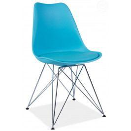 Jedálenská stolička Tim (modrá)