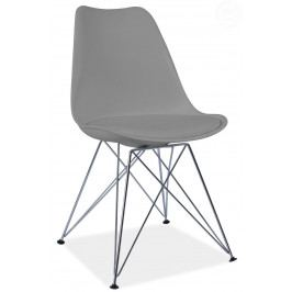 Jedálenská stolička Tim (sivá)