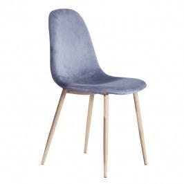 Jedálenská stolička Makaria (sivá)
