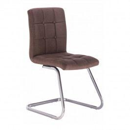 Jedálenská stolička Lavinia (hnedá)