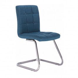 Jedálenská stolička Lavinia (tyrkysová)