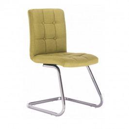 Jedálenská stolička Lavinia (zelenožltá)