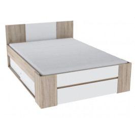 Manželská posteľ 140 cm Sirius (s úložným priestorom)