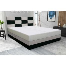 Manželská posteľ 140 cm Marion (s roštom a matracom)