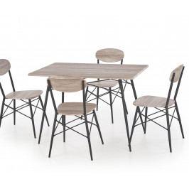 Jedálenský stôl Kabir (obdĺžnik) (pre 4 osoby)
