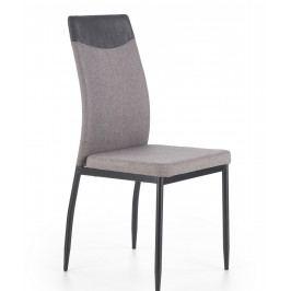 Jedálenská stolička K276 (svetlosivá)
