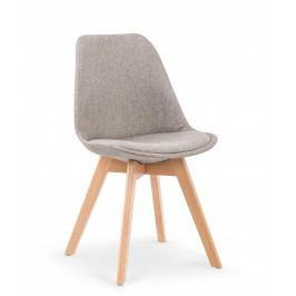 Jedálenská stolička K303 (svetlosivá)