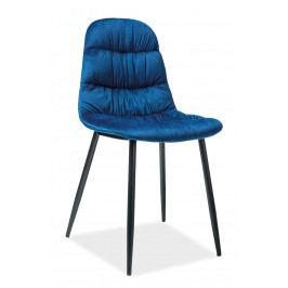 Jedálenská stolička Vedis (tmavomodrá)