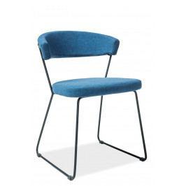 Jedálenská stolička Helix (modrá)