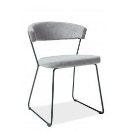 Jedálenská stolička Helix (sivá)
