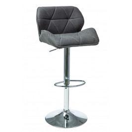 Barová stolička C-122 (sivá)