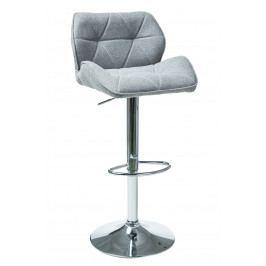 Barová stolička C-122 (svetlosivá)