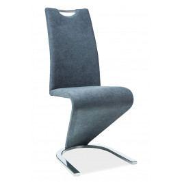 Jedálenská stolička H-090 (grafit)