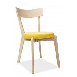 Jedálenská stolička Nelson (žltá)
