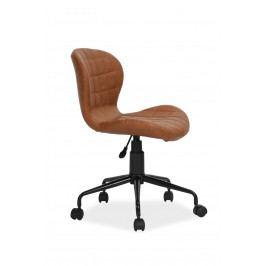 Kancelárska stolička Scot (hnedá)