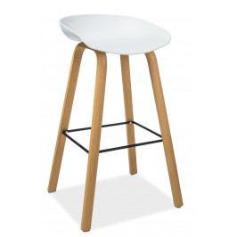 Barová stolička Sting (biela)