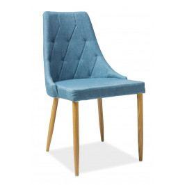Jedálenská stolička Trix II (modrá)