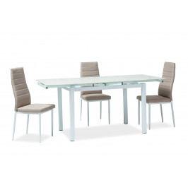 Jedálenský stôl Turin (biela) (pre 4 až 6 osôb)