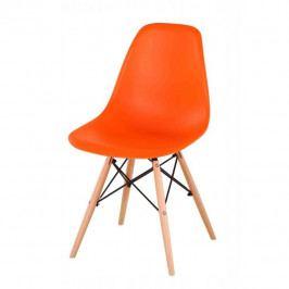Jedálenská stolička Cinkla 2 New (oranžová)