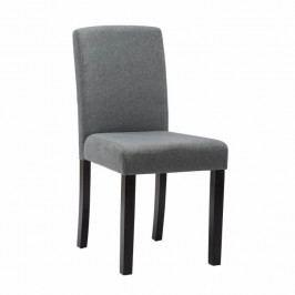 Jedálenská stolička Seluna (sivá + čierna)