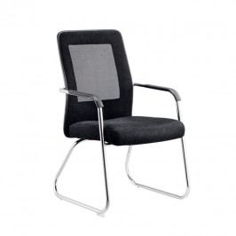 Kancelárska stolička Spazio (čierna + sivá)