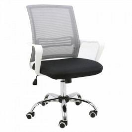 Kancelárska stolička Apolo (sivá + čierna)