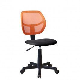 Otočná stolička Mesh (oranžová)