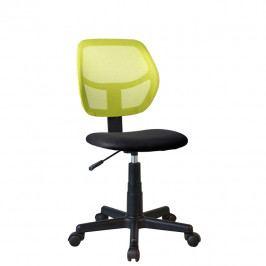 Otočná stolička Mesh (zelená)