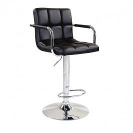 Barová stolička Leora (čierna)
