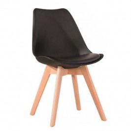 Jedálenská stolička Bali 2 (čierna)