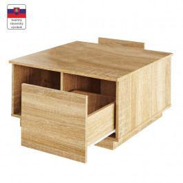 Konferenčný stolík Dalan (dub sonoma)