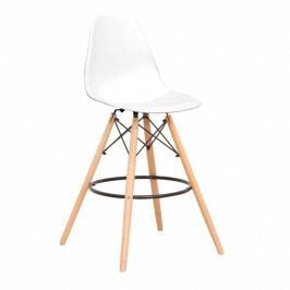 Barová stolička Carbry (biela)
