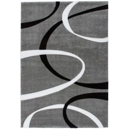 Kusový koberec Lambada 465 Silver Black (120 x 170 cm)