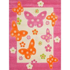 Detský koberec Amigo 307 Pink (150 x 100 cm)