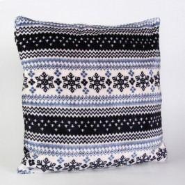 Obliečka na vankúšik Nordic modrá 40x40 cm Polyester