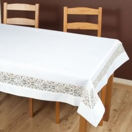 Obrus Colette biely 85x85 cm Polyester