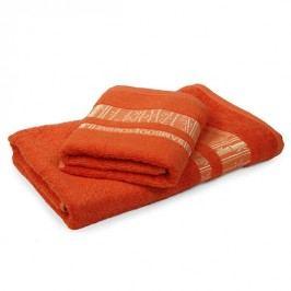 Bambusový uterák Jambi oranžový 50x90 cm, 480 g/m2 Uterák