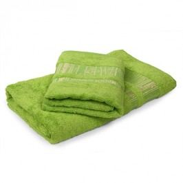 Bambusový uterák Jambi svetlozelený 50x90 cm, 480 g/m2 Uterák