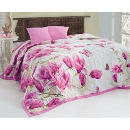 Prikrývka Alize lila prikrývka: 220x240 cm, 2x vankúšik 40x40 cm bavlna