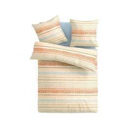 Obliečky Christin jednolôžko - štandard, prikrývka: 1ks 140x200 cm, vankúš: 1ks 90x70 cm, gramáž: 124 g/m2 bavlna