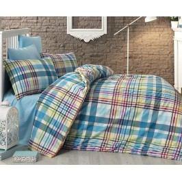 Obliečky Multicolor 140x220 jednolôžko - predĺžená bavlna