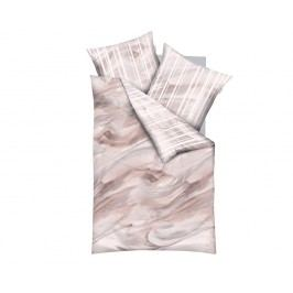 Obliečky Swirl jednolôžko - štandard, prikrývka: 1ks 140x200 cm, vankúš: 1ks 90x70 cm Bavlnený satén