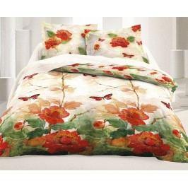 Obliečky Butterfly Dream 140x220 jednolôžko - predĺžená Bavlnený satén
