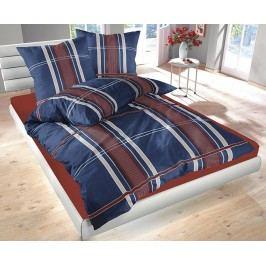 Obliečky Denim modré 140x200 jednolôžko - štandard bavlna