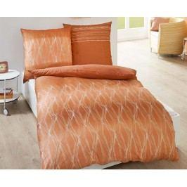 Obliečky Ventura jednolôžko - štandard, prikrývka: 1ks 140x200 cm, vankúš: 1ks 90x70 cm Bavlnený satén