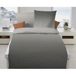 Obliečky Formation jednolôžko - štandard, prikrývka: 1ks 140x200 cm, vankúš: 1ks 90x70 cm, gramáž: 120 g/m2 Bavlnený satén