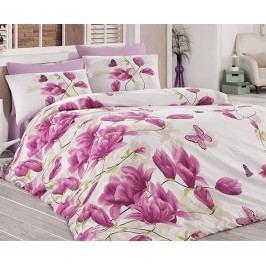 Obliečky Alize fialové 140x200 jednolôžko - štandard bavlna